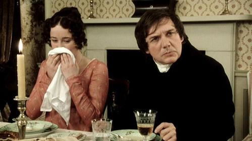 GIVE THE MOVIE (1995) RESPONSE! Mr. Bennet: May I ask whether these pleasing attentions proceed from the impulse of the moment or are they the result of previous study?