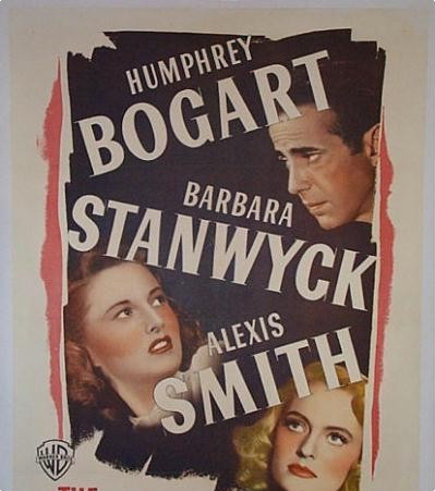 What Barbara Stanwyck movie, co-starring Humphrey Bogart, is this poster from?
