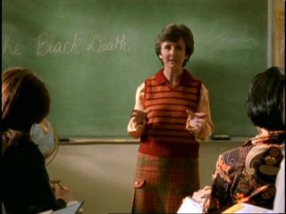"Which actress played role teacher in ""Welcome to the Hellmouth""?(image is a clue:)"