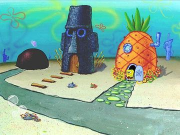On which road does Spongebob live?