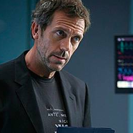 "Chase: ""You're joking"". House: ""Well, hard not to. Nothing's funnier than..."""
