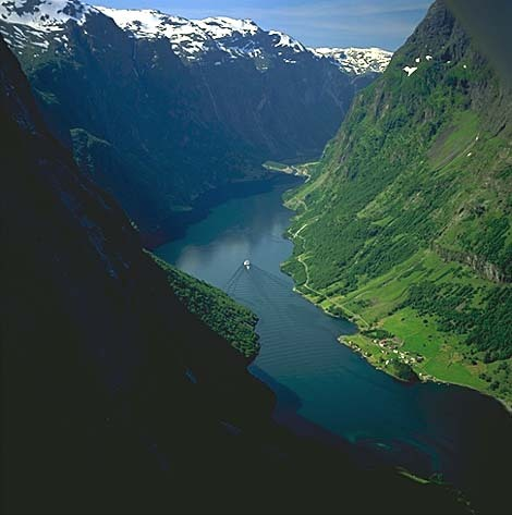 Sognefjorden is the saat longest fjord in the world: