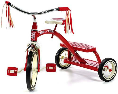 """Who says the line, """"I've driven tricycles with thêm power""""?"""