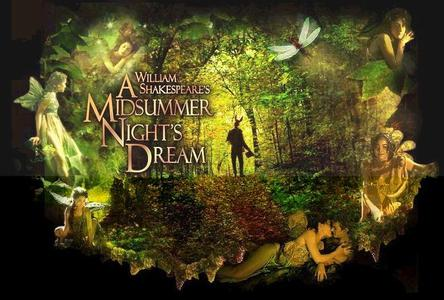 In 'A Midsummer Night's Dream,' what are the names of the King and Queen of the fairies?