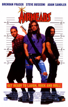 "What instrument did Pip (Adam's character from ""Airheads"") play in the band?"