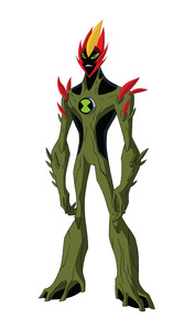 In Ben 10, which character most resembles Swampfire?