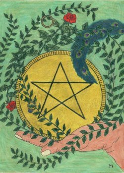 Every suit of the Minor Arcana of the tarot corresponds to one of the suits in an ordinary deck of playing cards. What suit do the Pentacles correspond with?