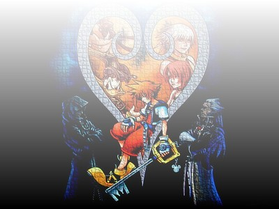 This picture comes from what Disney- inspired video game that tells about a boy named Sora, who sets out on a journey with Donald and Goofy to find his long, lost friends?