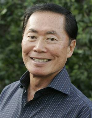 What episode did George Takei appear in?
