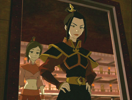 Which episode do we see Azula in first?