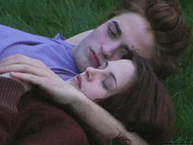 """How did Bella reply to Renee at the end of Twilight when she کہا """"And how do آپ feel about him?"""""""