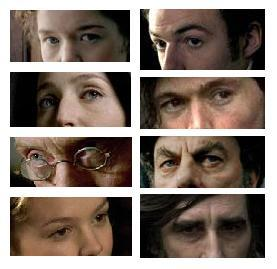Here's looking at you...These eyes can all be found in which movie?