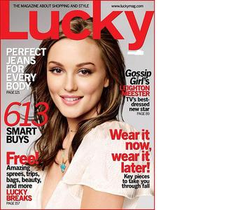 Leightons magazing cover- Lucky_____, 2008