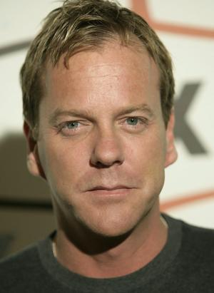 true/false: She has been a big fan of actor Kiefer Sutherland