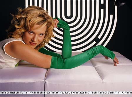The first album Hilarie bought with her own money was ______?
