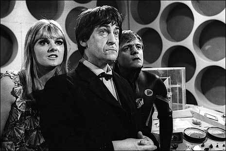 For how many series' was Patric Troughton the doctor?