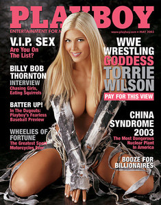 "Where is the ""Bunny"" [Torrie Wilson is on the cover]"