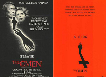 REST IN PEACE: In both versions of 'The Omen', how does the main character, Robert Thorn, die?