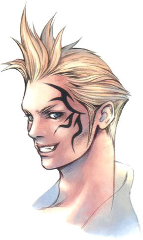 Zell Dincht from FFVIII is fighting with...