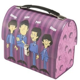 What band is on this lunch box?