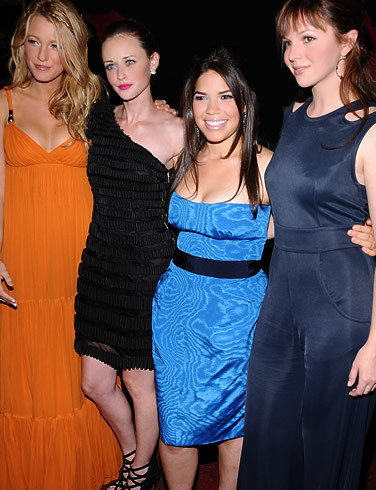Alexis has said in previous interviews that she especially enjoyed filming The Sisterhood of the Traveling Pants because _______?