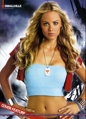 How Many Episodes of Smallville Season 7, did Laura appear in?