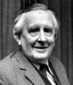 What was Tolkien's eye color?