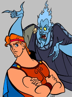 How are Hades and Hercules related?