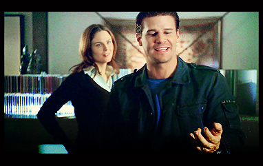 What Is The Name Of the song booth and brennan start dancing to when booth gets blowns up