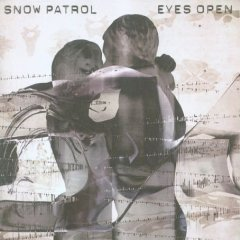 Which Postion Did The Album 'Eyes Open' Come In The UK Album Chart?