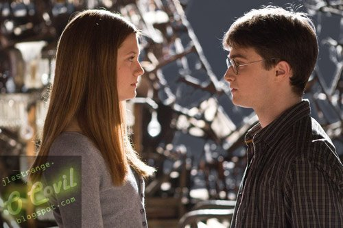 Who was Ginny's first boyfrend?