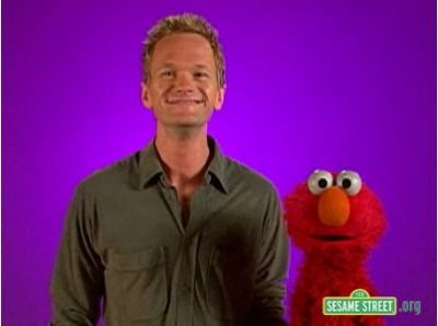 According to Elmo!  What is Neil's favourite food?