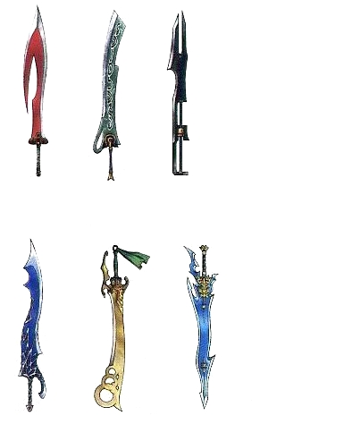 Which FF character is fighting with these swords?