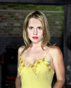 How many action figures were made of Emma's character Anya in Buffy?