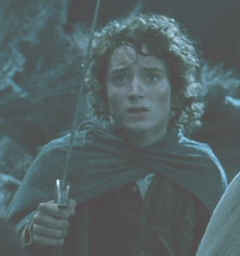How many times does Frodo get injured throughout the trilogy?