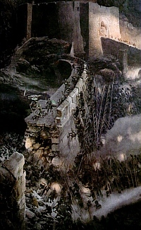 In the book, who came riding with Gandalf to the aid of the Rohirrim at Helm's Deep, and turned the tide of the battle?