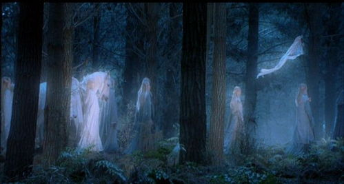 What Is The Name Of The Leader Of The Wood Elves That The