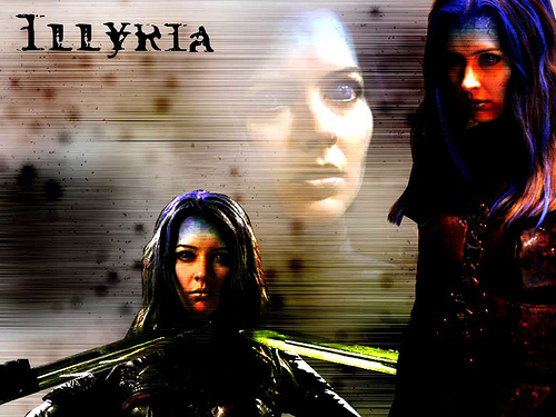 How many episodes did Illyria appear in?