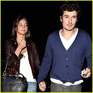 What nationality is his current girlfriend Miranda Kerr?