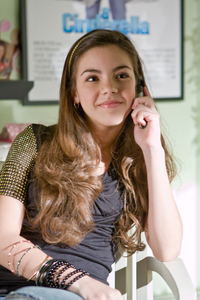 Which Wizards of Waverly Place star did she star in a movie with???