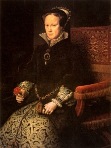 Queen Mary I of England is also known as _________.