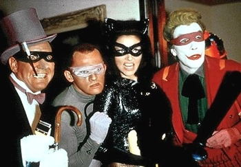 Who played The Joker in the 1960's Batman series?