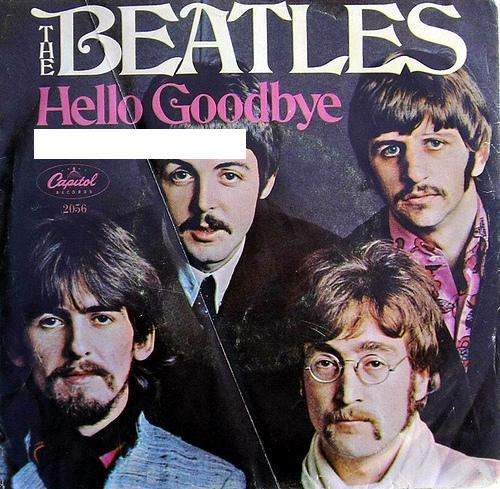 Match the A-Side to its B-Side: Hello Goodbye...