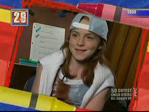 What commercial did Lindsay Film when she was a child?