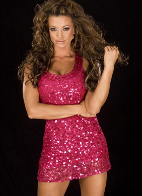 Apart from Candice Michelle, which other WWE diva has been seen wearing this dress? (Sept. '08)