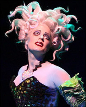 Who played Ursula in The Little Mermaid on Broadway?