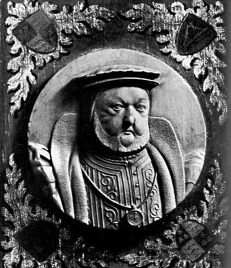 Which of his six wives was Henry VIII buried with?