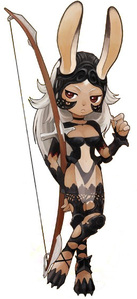 What race is Fran in FFXII?