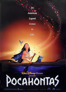 Who wrote the musik for Pocahontas?