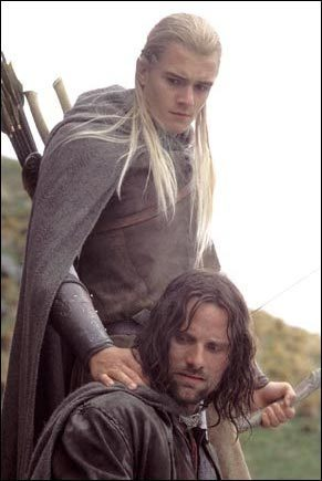 To refine his acting for the role of Legolas in LOTS, Where did he found inspiration